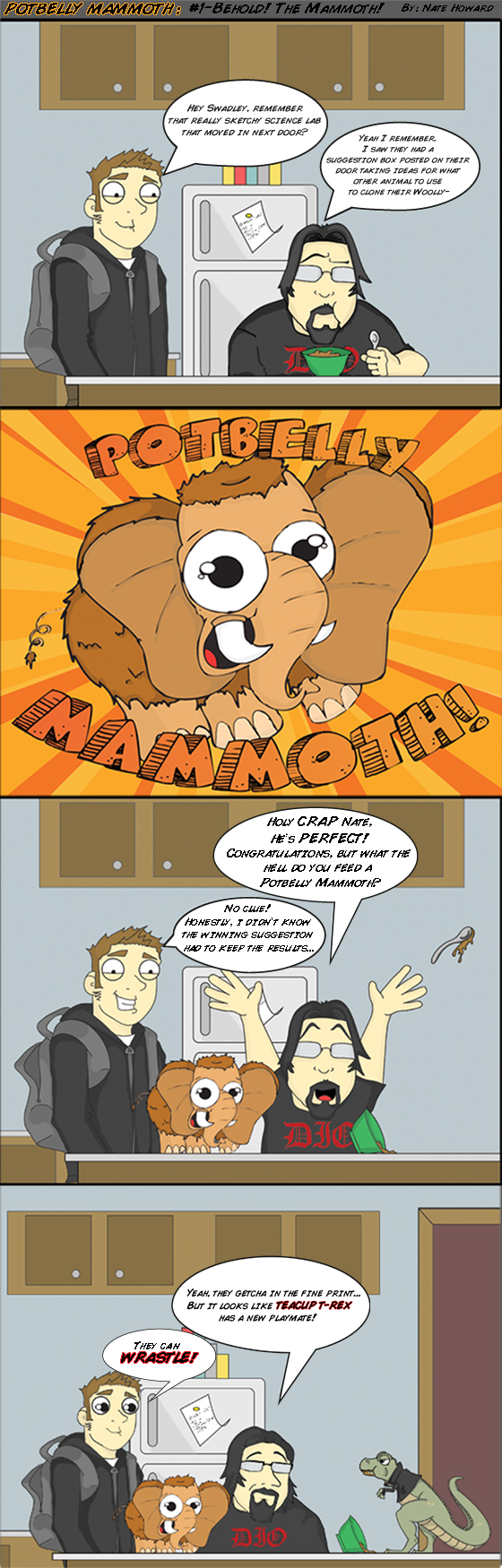 #1 BEHOLD! The Mammoth